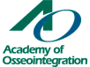 Academy of Osseointegration logo 102